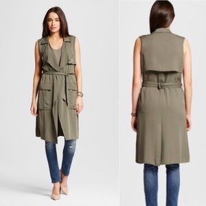 Mossimo Trench Vest